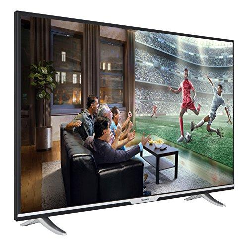 Telefunken XU55D401 140 cm (55 Zoll) Fernseher (4K Ultra HD, Smart TV, Triple Tuner) [Energieklasse A+]