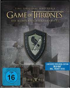 Game of Thrones - Staffel 4 & 3 Steelbook Limited Edition (Blu-ray) für je 22,97€ (Amazon Prime)