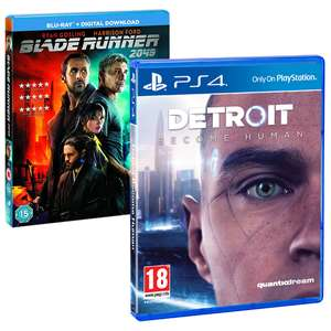 Detroid become Human PS4 + Blade Runner 2049 Blu-Ray Bundle [Shop4]
