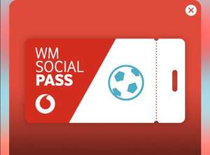 Vodafone Social Pass zur WM GRATIS [Red/Young] & 1GB Datenvolumen [Smart]