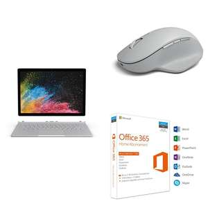 -100 EUR beim Kauf von Surface Book 2 + Mouse + Microsoft Office