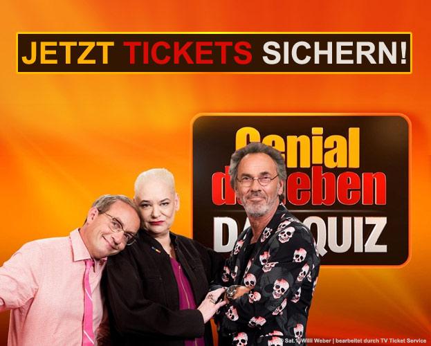 """Kostenlos zur neuen TV Sendung """"Genial Daneben - Das Quiz"""" in Köln"""