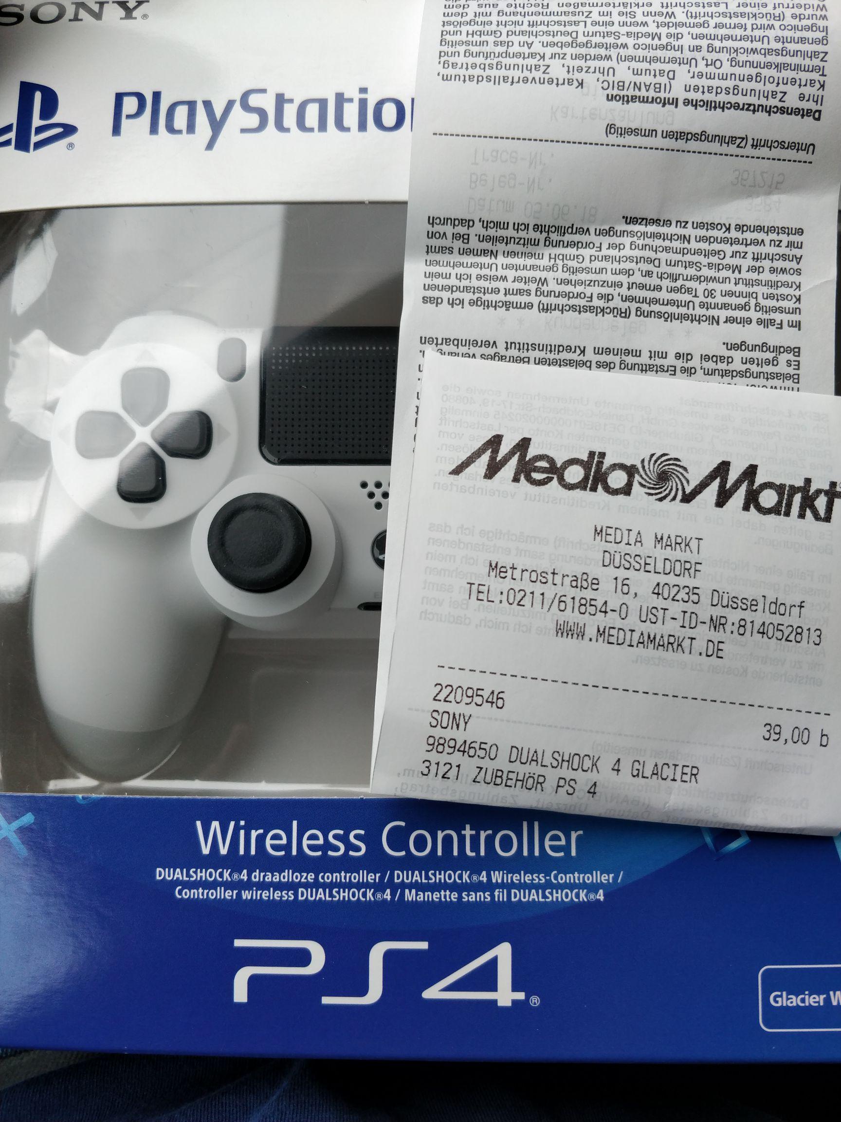 Mediamarkt (Düsseldorf Metro) Sony Playstation Dualshock 4  days of play Angebot ab heute
