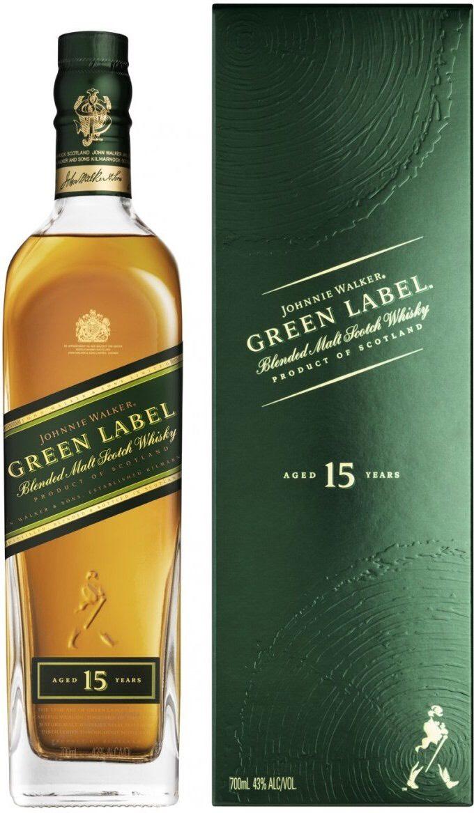 [Amazon] Johnnie Walker Green Label für 23.92 die Flasche ab 2 Stück Whiskey