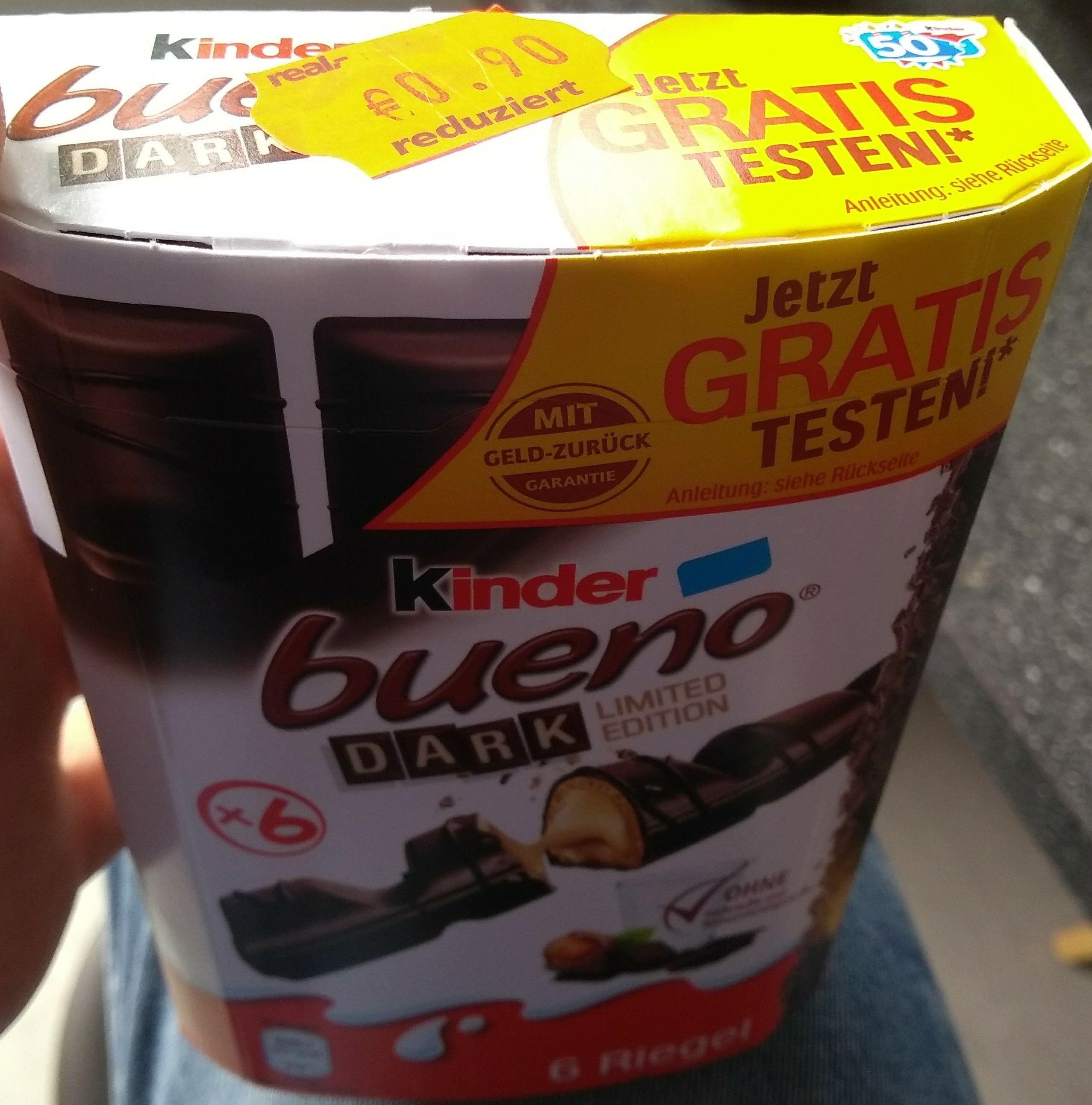 [Lokal] [Real,- Gütersloh] Kinder Bueno Dark für 0,90€