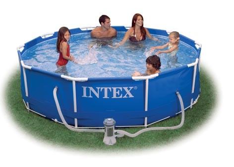Intex Metal-Frame Pool 305 x 76 cm für 73,01€ mit Pumpe *UPDATE*