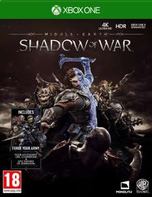Mittelerde: Schatten des Krieges (XBox One) für 16,90€ & (PS4) für 18,35€ (ShopTo & Base.com & Amazon UK)