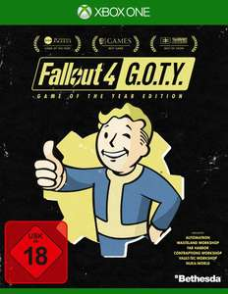 Fallout 4: Game of the Year Edition (Xbox One) für 7€  versandkostenfrei (Saturn)