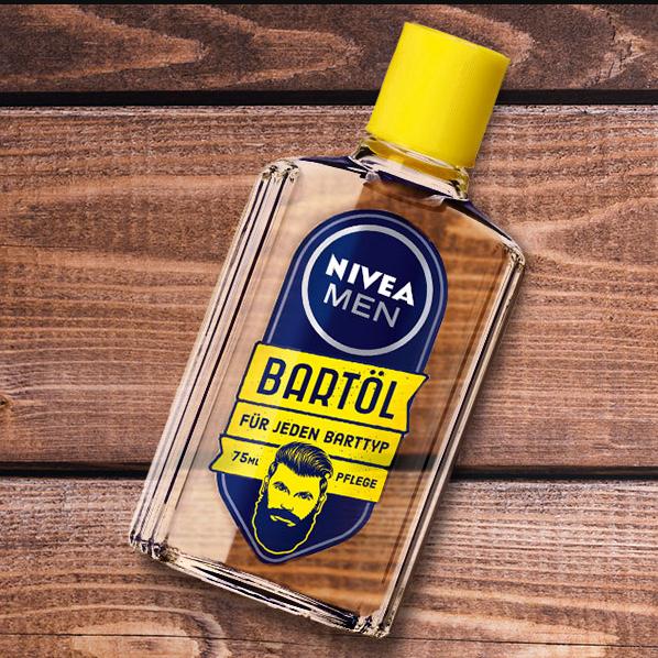 Nivea Men Bartöl 75ml für nur 3,99€ [Jawoll Sonderpostenmärkte]