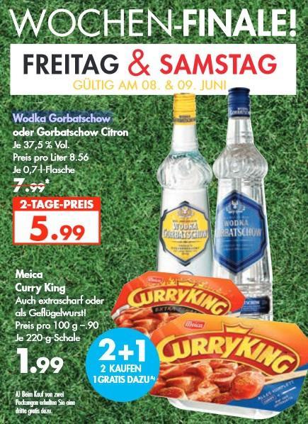 [ Karstadt Lebensmittel bundesweit ] 3x Meica Cury King für 3,98€