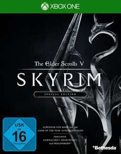 The Elder Scrolls V: Skyrim Special Edition (Xbox One) für 17€ versandkostenfrei (Saturn Amazon Prime)