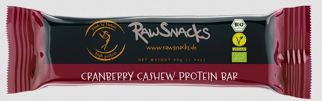 Raw Snacks - 12 x 40 g (480 g) - 3 Sorten verfügbar