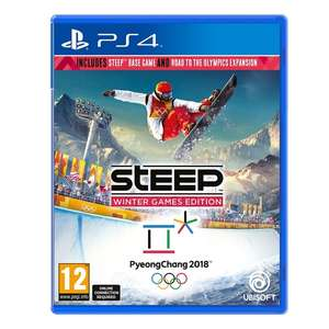 Steep: Winter Games Edition (Steep + Road to the Olympics) (PS4) für 16,16€ (Base.com)