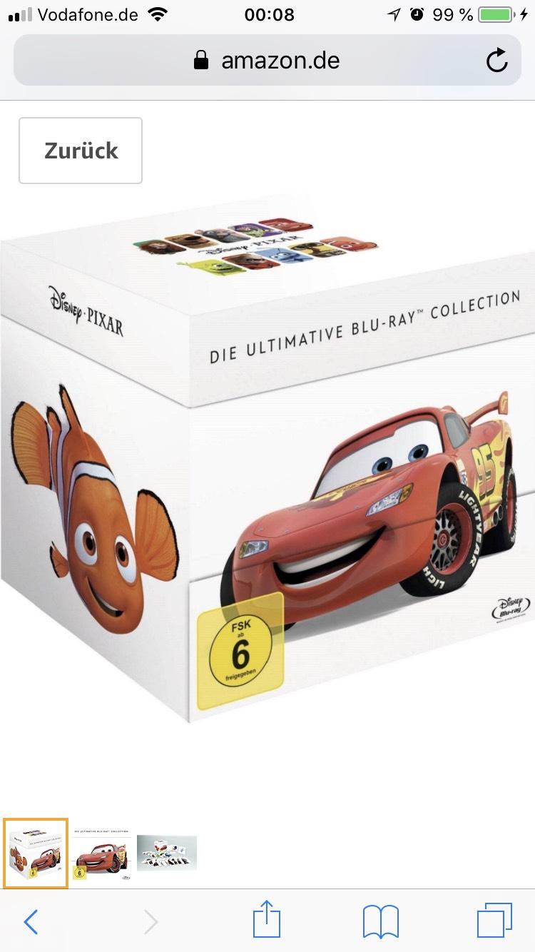 Amazon Marketplace Disney Pixar Collection für 49,90