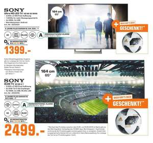 [Lokal] Sony KD65A1 Oled und Sony KD65XE9005 im Saturn Herford