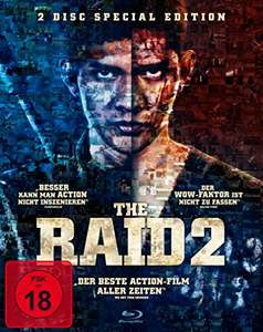 The Raid 2 Special Edition (2x Blu-ray) für 4,97€ (Amazon)