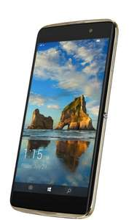 """[iBood] Alcatel Idol 4 Pro (Win 10) 5,5"""" FHD AMOLED, Snapdragon 820, 4GB RAM, 64GB ROM, 21MP f/2.2 Kamera, Smartphone"""