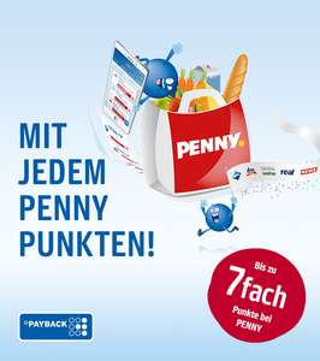 Bis zu 7fach Punkten bei Penny (+ andere Payback-Partner)