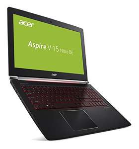 [Amazon] Acer Aspire V 15 Nitro Black Edition VN7-593G-57NE 39,6 cm (15,6 Zoll Full-HD IPS matt) Gaming Notebook (Intel Core i5-7300HQ, 8GB RAM, 256GB PCIe SSD, 1,000GB HDD, NVIDIA GeForce GTX 1060, 6GB VRAM, Win 10) schwarz