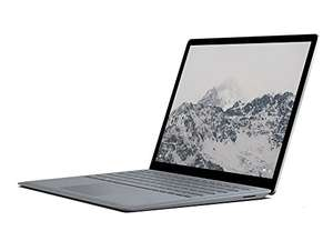 [Amazon] Microsoft Surface Laptop 34,29 cm (13,5 Zoll) (Intel Core i5, 128GB Festplatte, 4GB RAM, Intel HD Graphics 620, Win 10 S) Platin Grau