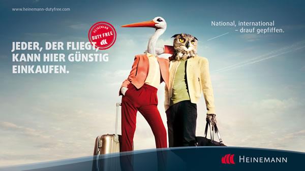 [Heinemann Duty Free] 15% Rabatt über App/ Coupon für Flughafeneinkäufe (Alkohol, Parfum, Make-Up, Snacks...)