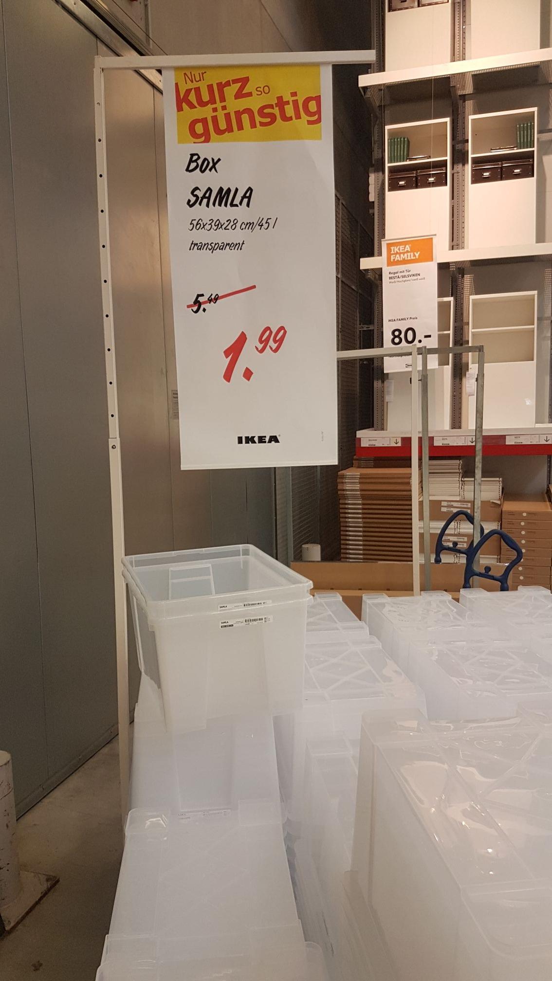 [LOKAL BERLIN] IKEA Box SAMLA 45L 56x39x28 *Lichtenberg*