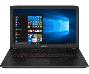 Asus FX753VE-GC218 17,3 Full-HD / Intel Core i7-7700HQ / 8GB / 1TB HDD / GeForce GTX 1050Ti / FreeDOS