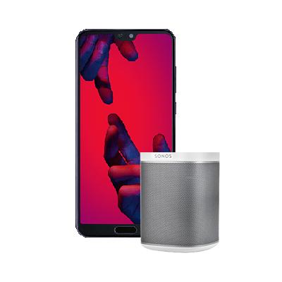 Huawei P20 Pro + o2 Free M + 150€ Amazon + Sonos Play 1