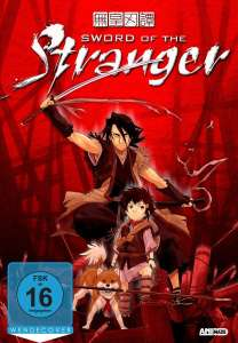 Sword of the Stranger Blu-ray + DVD Mediabook [amazon.de]
