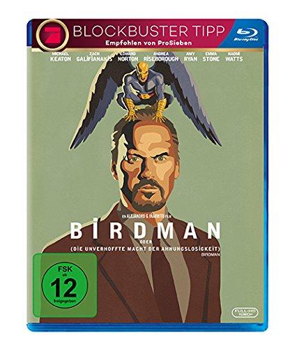 Birdman oder (die unverhoffte Macht der Ahnungslosigkeit) (Blu-ray) für 4,46€ (Dodax)