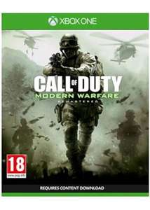 Call Of Duty Modern Warfare Remastered (Xbox One) für 12,88€ (Base.com)