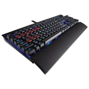 Corsair Gaming K70 Tastatur - Blue LED, Cherry MX-Red Switches, Bestpreis