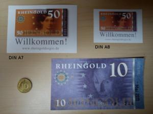 Rheingold - edle, wetterfeste Aufkleber (max. 2 x 10) kostenlos bestellen !