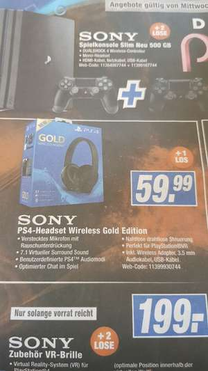 Sony Playstation 4 Gold Headset