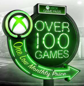 Xbox Live Gold & Xbox Game Pass 1 Monat für je 25 Cent
