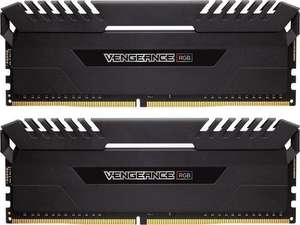 Corsair Vengeance RGB schwarz DIMM Kit 32GB (2x16GB), DDR4-3000