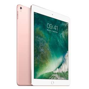 Blitzdeals bei notebooksbilliger, z.B. Apple iPad Pro 9.7 256GB WiFi + 4G roségold (2016er-Modell refurbished)