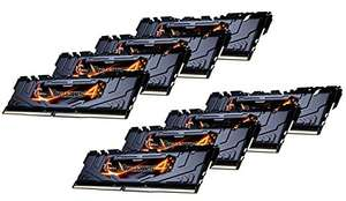 Einzelstücke: Arbeitsspeicher G.Skill RipJaws 4 schwarz DIMM Kit 64GB, DDR4-2800 (8x8GB)