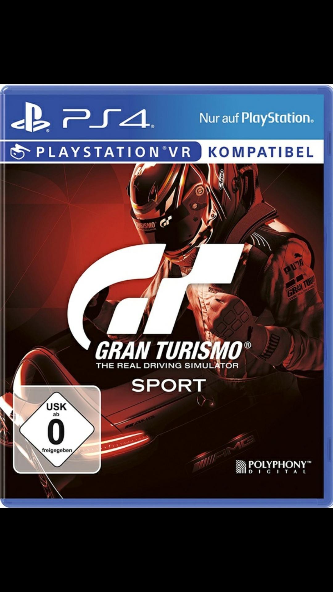 [eBay + Media Markt (Link im Deal)] Gran Turismo Sport Day 1 Edition