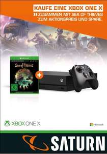 Xbox One X 1TB inkl. Sea of Thieves code