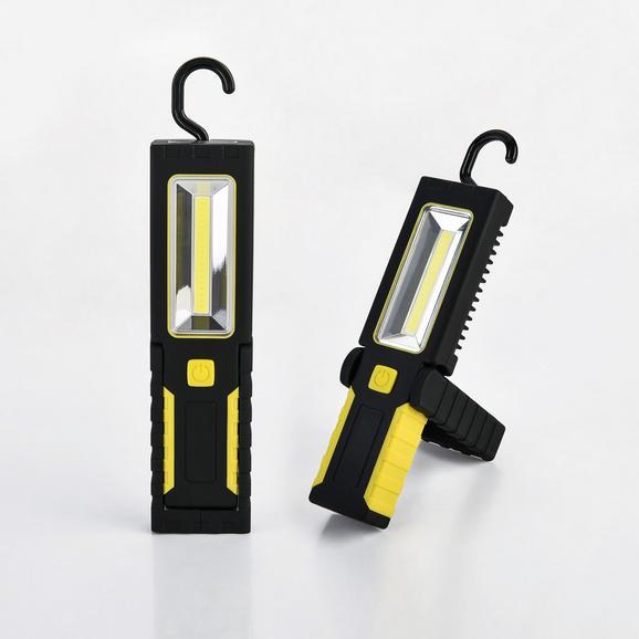 LED Arbeitsleuchte 3-Modi mit Magnet, Haken und Batterien für 5€ (bei Abholung, sonst +3,95 Versand) statt 15€ [mömax]
