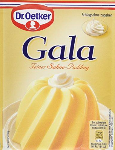 [AMAZON Plusprodukt] Dr.Oetker Gala Feiner Sahne-Pudding, 11er Pack (11 x 120 g)