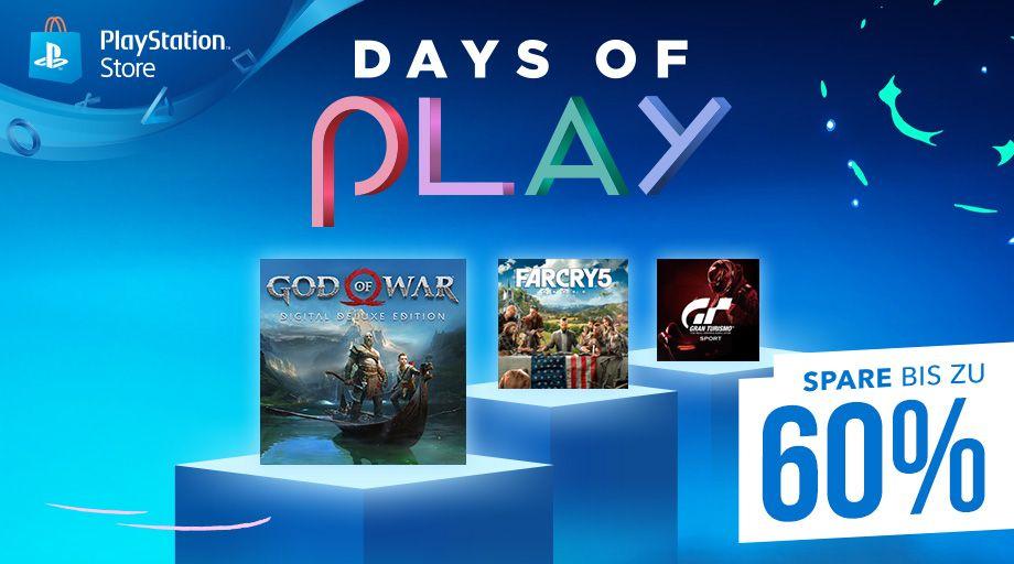 """PlayStation Store: (PREIS UPDATE) Übersicht der Spiele bei den """"Days of Play"""""""