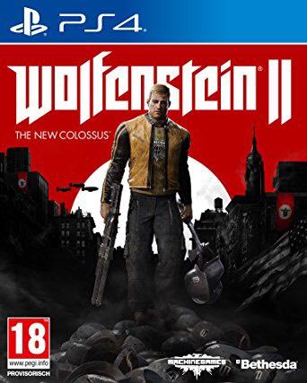"""[amazon.fr] WOLFENSTEIN II - The New Colossus (PS4) zum """"Kampf""""-Preis inkl. Versand UNCUT aus FR (MIT SYMBOLIK!)"""