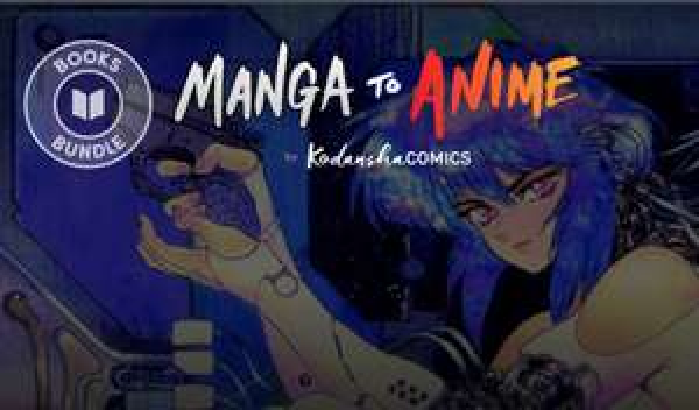 [Humble Bundle] Manga zu Anime Bundle