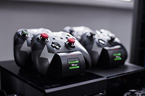Trust GXT 247 Xbox One Controller Ladestation inkl. 2x Akku für 10,16€ (Amazon Prime)