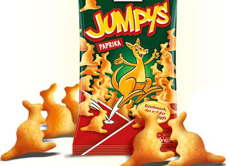 Funny Frisch Spezialitäten z.B. die leckere Jumpys für 88 Cent (Aldi Süd ab 15.06.)