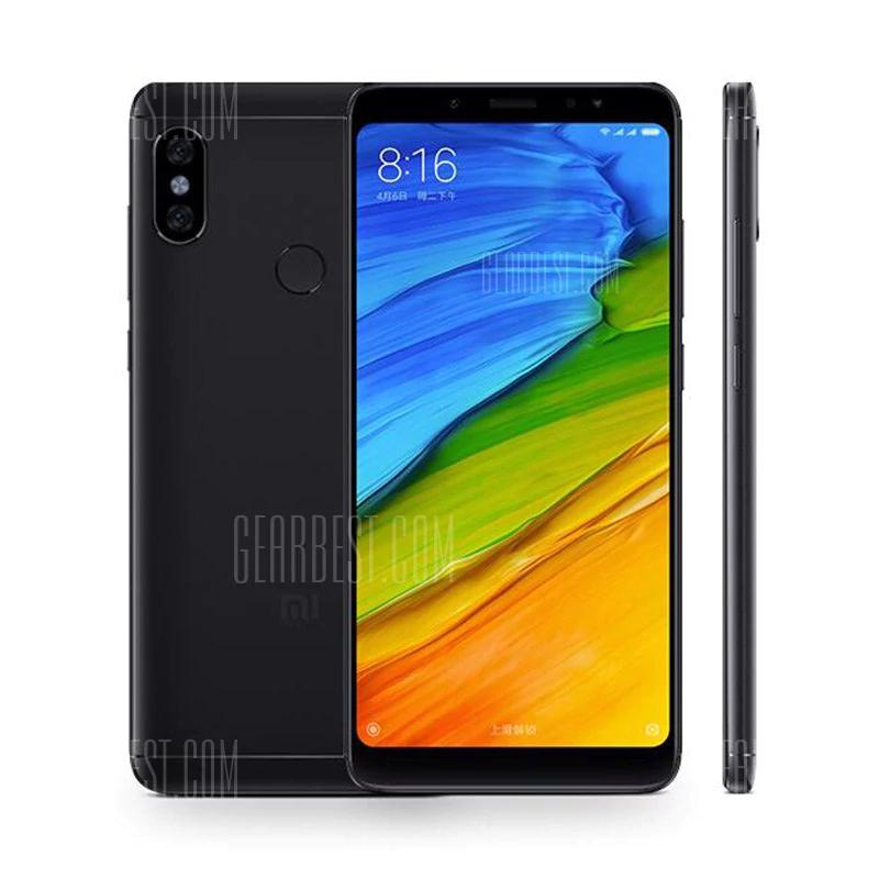 "Xiaomi Redmi Note 5 Global (6"" FHD+, 3GB RAM, 32GB ROM, Snapdragon 636, B20) für 149,31€ [Gearbest]"