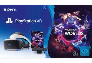 [Saturn, MediaMarkt, Amazon] Sony Playstation VR (V2) für 249€ im Bundle mit Camera + VR Worlds Voucher & Grand Turismo Sport (GT Sport)