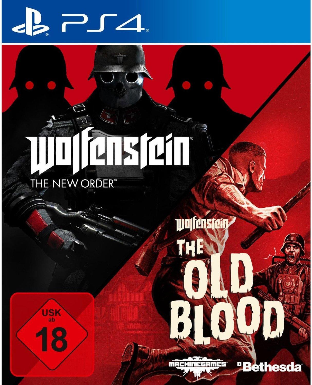 Wolfenstein: The New Order & The Old Blood Double Pack (PS4) für 19€ versandkostenfrei (Saturn & Media Markt)